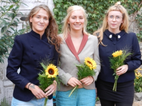 Helene, Kistin und Josefine 2018
