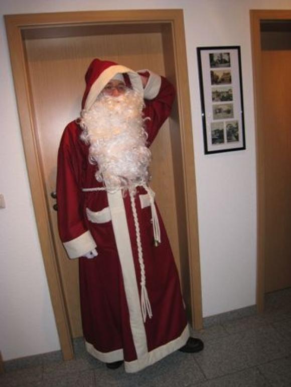 Weihnachtsmannmantel 2012