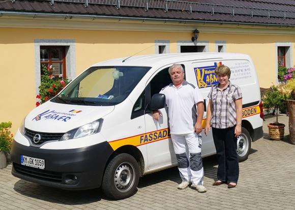 Malermeister Gerd Kaßner und Simone Kaßner