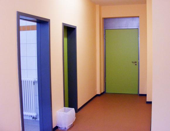 Sporthalle Gersdorf - Malerarbeiten