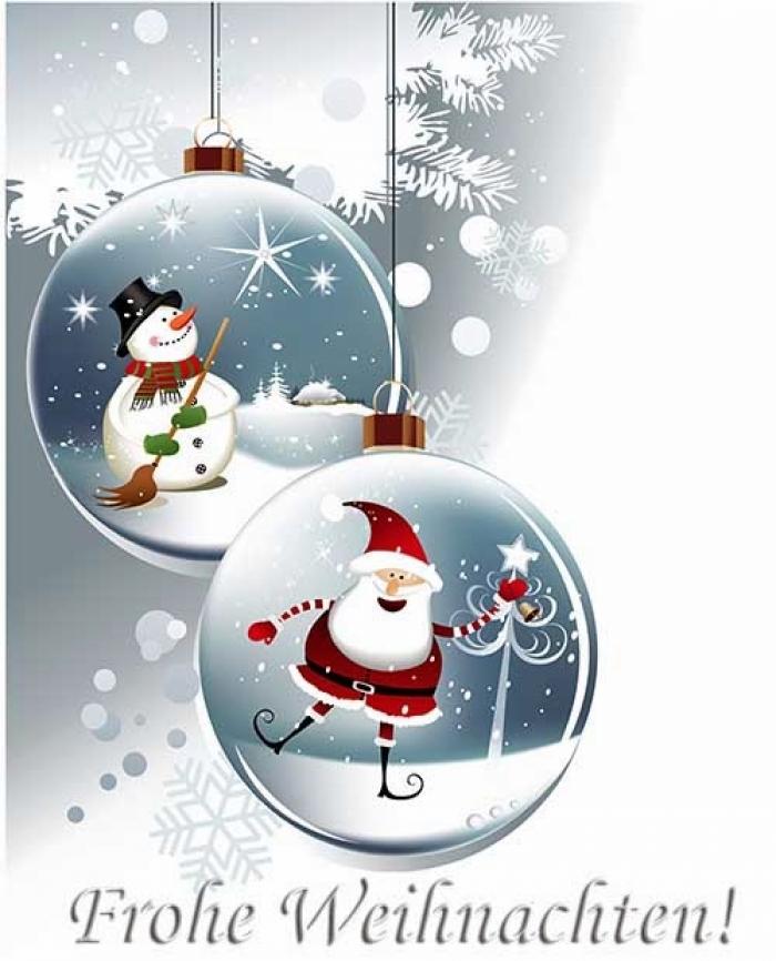 Frohe Weihnachten Grüße.Frohe Weihnachten