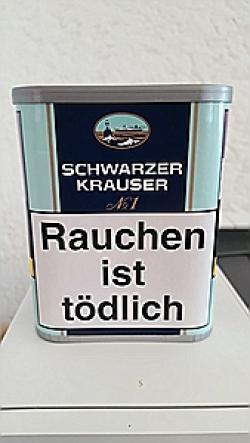 mehr Infos zu Schwarzer Krauser No.1  85g Dose