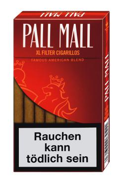 mehr Infos zu Pall Mall XL Full Flavour Filter Cigarillos
