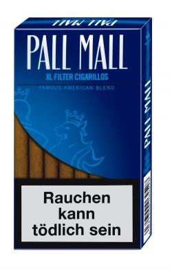 mehr Infos zu Pall Mall XL Smooth Taste Filter Cigarillos