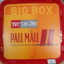 mehr Infos zu Pall Mall Big Box 130 g